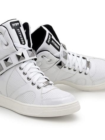 7MVP Hard Fit 70102 White Varnish Workout Sneakers