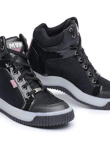 MVP Fitness Leg New 70113 Black White Workout Sneakers