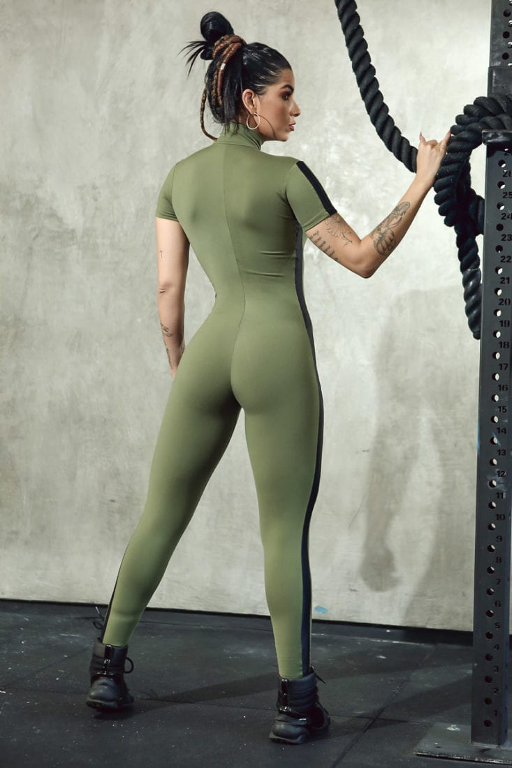 DYNAMITE Jumpsuit ML2095 Panzer Fitness Overalls - One-Piece
