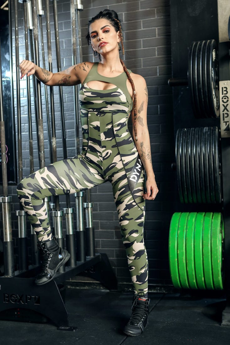 DYNAMITE Jumpsuit ML2018 Camouflage Squad- One-Piece