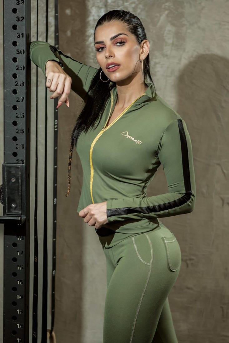 DYNAMITE BRAZIL Victory Jacket CA502 - Sexy Workout Long Sleeve Jacket