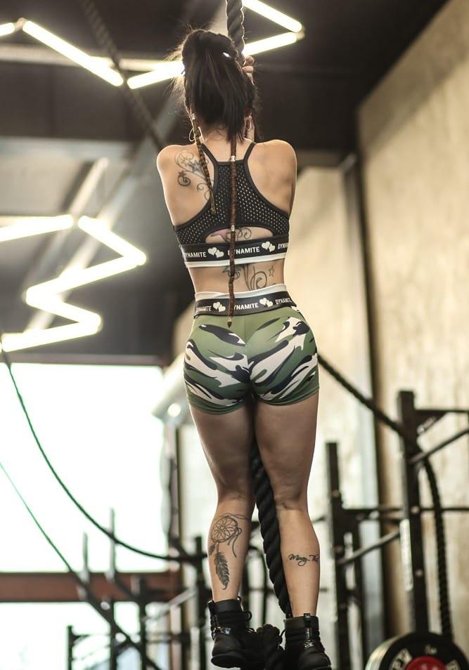 DYNAMITE BRAZIL Shorts SH2094 Apple Booty Horus-Sexy Shorts