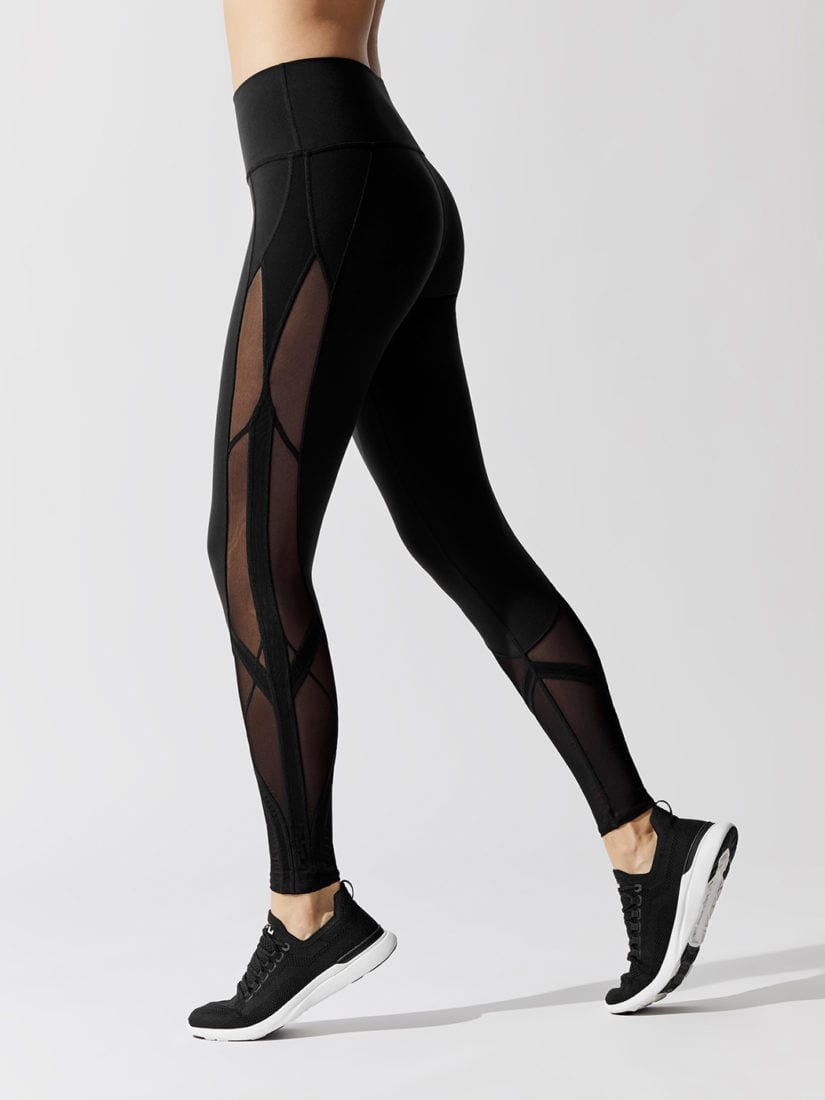ALO Yoga High Waist Mosaic Legging - Black